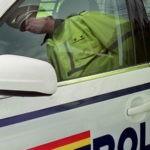 Tânăr de 26 de ani din Blaj surprins de polițiștii rutieri în timp ce conducea un autoturism neînmatriculat, pe DJ 107 la Mănărade