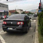 Primarul Municipiului Blaj, Gheorghe Valentin Rotar, amendat cu 400 de lei după ce a parcat neregulamentar
