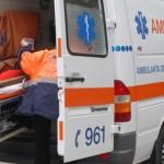 Un autoturism în care se aflau 5 tineri s-a răsturnat în șanț la ieșirea din Blaj