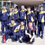 """Medalie de bronz pentru echipa școlii """"Toma Cocişiu"""" din Blaj în finala ONSS la volei"""