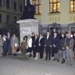 "In memoriam Gheorghe Șincai la Colegiul NaŢional ""I. M. Clain"" Blaj"