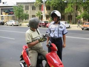 moped-oprit-politie-blaj