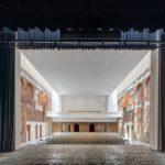 Scena Palatului Cultural din Blaj dotată de Bosch Rexroth cu tehnologie ultramodernă, similară celei utilizate de Teatrul Național din Viena