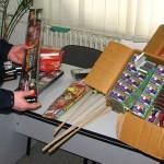 Bărbat din județul Mureș cercetat de polițiștii din Blaj pentru operaţiuni ilegale cu articole pirotehnice