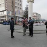 Cu sau fără căciulă, zeci de oameni au fost sancționați de polițiști ieri la Blaj cu ocazia Târgului Căciulilor