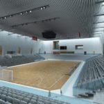 """După ce va fi finalizată, Sala Polivalentă """"Darko Arena"""" din Blaj va găzdui toate competițiile internaționale ale loturilor naționale de volei"""