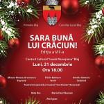 Luni, 21 decembrie: Concert de colinde și cântece de iarnă, cu artiști consacrați, la Blaj