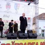 """Astăzi la Blaj s-a deschis oficial cea de-a VI-a ediţie a celui mai mare târg apicol din România – """"Sărbătoarea Mierii"""" 2013"""