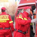 Accident cu 3 victime pe DN14B, lângă Blaj.