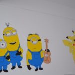 Pereţii secţiei de pediatrie de la Spitalul Municipal Blaj au fost animaţi de personaje îndrăgite din desene animate