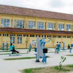 Sala de sport din Parcul Avram Iancu din Blaj a fost modernizată