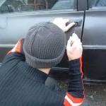 Doi bărbați, din Sibiu respectiv Botoșani, au fost reținuți de polițiștii din Blaj pentru furt dintr-un autoturism