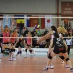 Victorie netă pentru echipa lui Zakoc în primul meci din semifinale: Volei Alba Blaj – CSM Bucureşti 3-0
