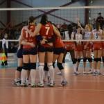 Semifinalele Cupei României la volei feminin, le vor aduce față în față pe Volei Alba-Blaj si pe Dinamo București