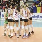 Campioana sub presiune, la un eșec de ratarea titlului: CSM Târgovişte – Volei Alba Blaj 3-1