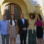Klaus Iohannis a felicitat fetele de la CSM Volei Alba Blaj, pentru titlul de vicecampioană a Europei