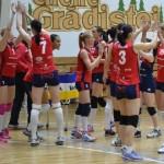 """Victorie mare pentru echipa din """"Mica Romă"""": CSM Târgovişte – Volei Alba-Blaj 0-3, în primul meci din finala campionatului!"""