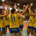 Un nou derby adjudecat, nu fără emoţii, de campioană: Volei Alba Blaj – Ştiinţa Bacău 3-1
