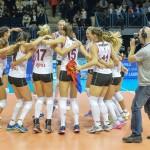 Campioana României la a 11-a victorie din 11 meciuri disputate în campionat: SCMU Craiova – Volei Alba Blaj 0-3
