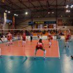 Campioana câştigă lejer și cel de-al treilea meci disputat în Divizia A1: Volei Alba Blaj – Penicilina Iaşi 3-0