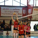 Campioana face un pas important spre un nou titlu: Volei Alba Blaj – Știința Bacău 3-0